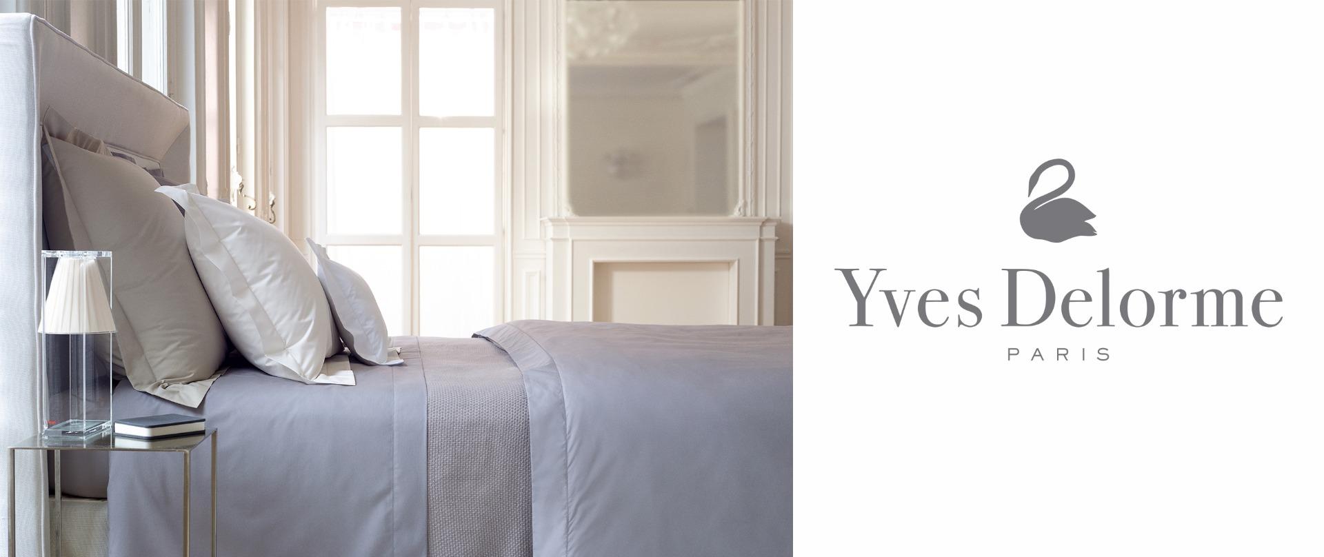 Yves delorme at arighi bianchi designer bed linen for Yves delorme